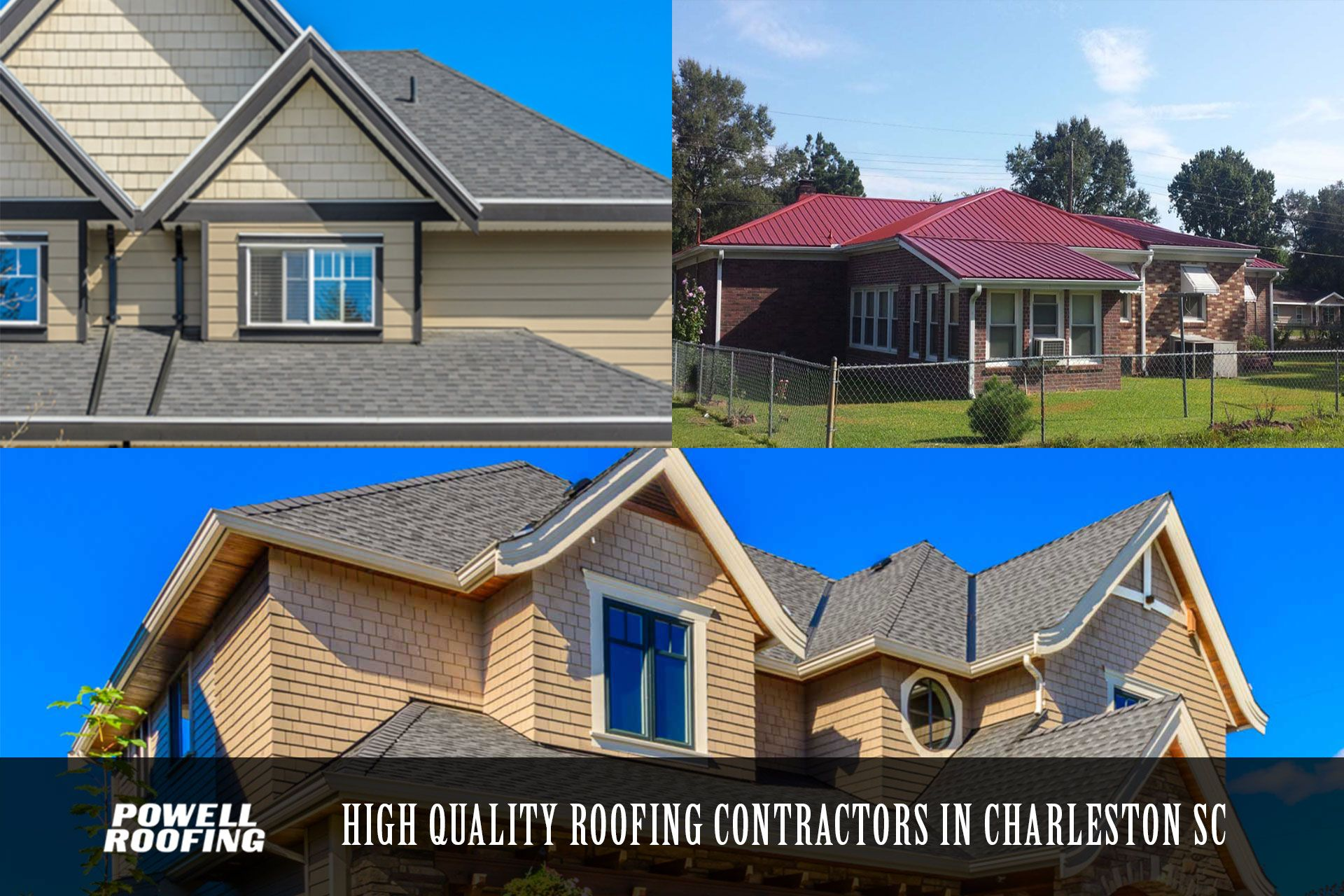 Established In 2005 Powell Roofing Llc Is Locally Owned And Operated In Charleston Sc We Offer Competitive P Best Roofing Company Roofing Commercial Roofing