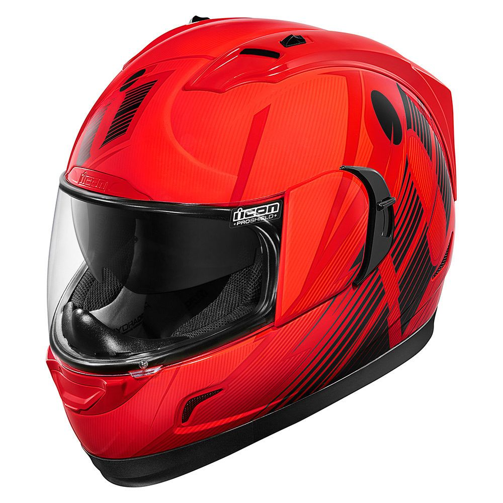 Primary Red Helmets Icon Motosports Ride Among Us