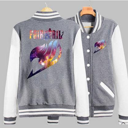 32.79US $ 20% OFF|New Men Women fairy tail  Jacket Casual Boys Girls Sportswear Unisex Sweatshirt Coats Tops Hip Hop Baseball Jerseys|men hoodie|sweatshirt jacketjacket hoodie men - AliExpress