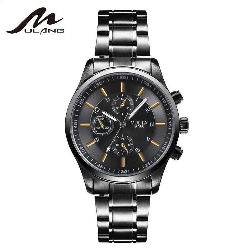 MULLAI Muži Hodinky slavné značky Hodinky Muži Luxusní Neformální Muž Hodiny  Muž Sportovní Quartz Classic Muži Náramkové hodinky Relogio Masculino 488019aff35