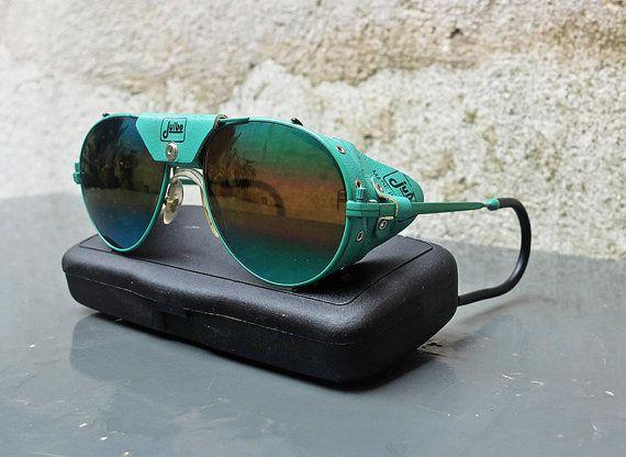 76fd008f63a Vintage JULBO Glacier Aviator Sunglasses Made in France
