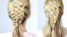 Big Elsa Braid From Disney Frozen With Images Elsa Hair Hair
