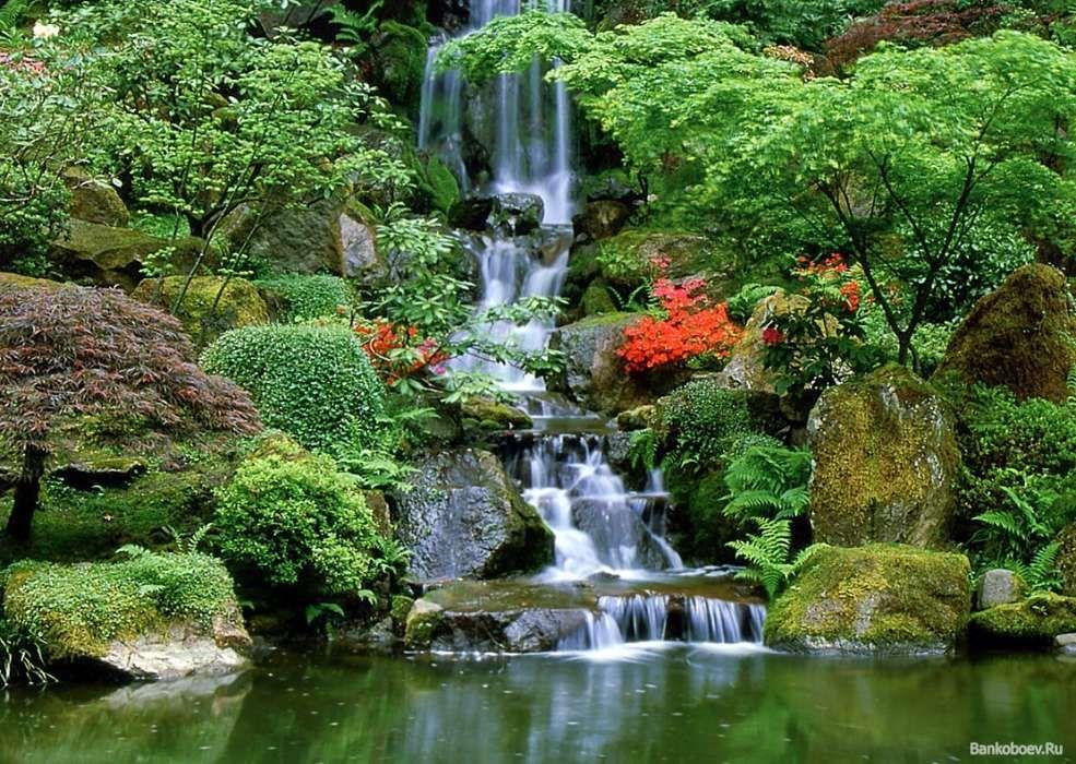 Download Bilder für das Handy: Landschaft, Wasser, Wasserfälle