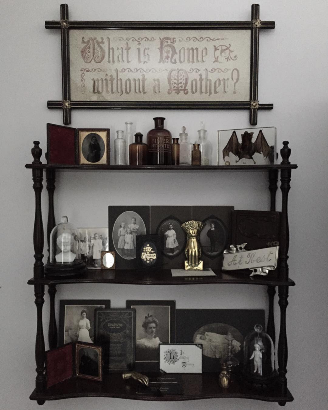 18+ Vintage goth home decor ideas