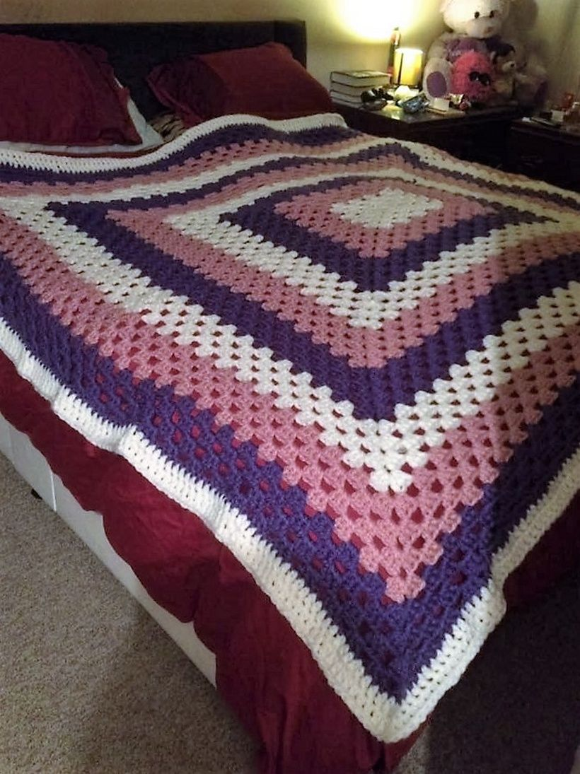 Simply amazing crocheted blankets super chunky wool chunky wool i did this with some super chunky wool love it pam graham bankloansurffo Choice Image