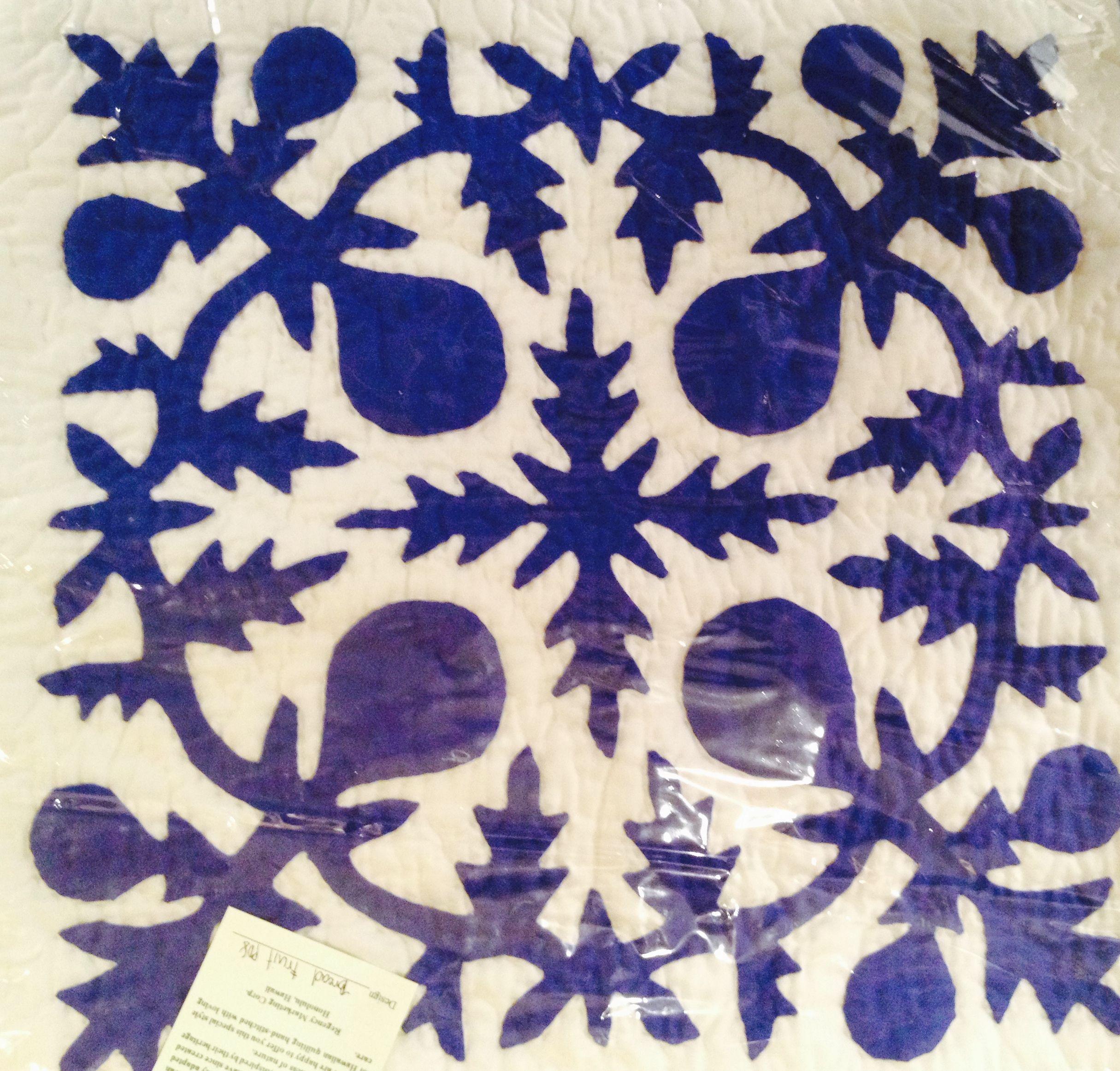 """18"""" x 18"""" pillow cover - Hawaiian Quilt"""