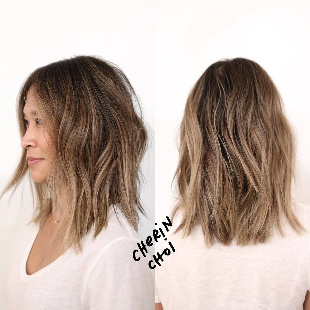 Lighter And Ashier Haircolor Goals For These Warm La Days