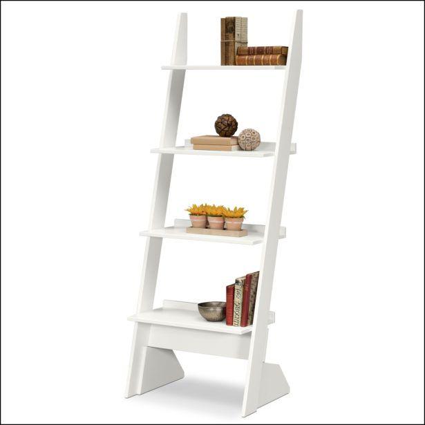 Furniture White Ladder Shelf Ikea White Ladder Shelf Ikea White Colors Home Decor Shelves Shelf Furniture Shelves