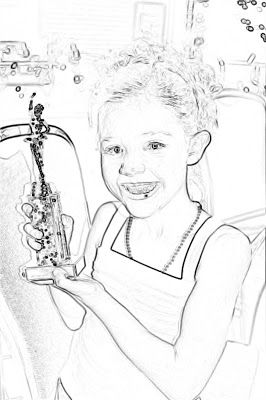 Brassy Apple Diy Psp Coloring Pages Wow Turn Any Picture