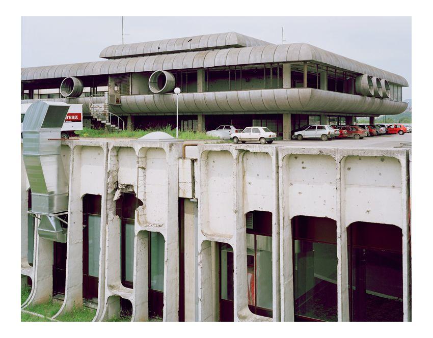 Verwundete Architektur:  Wie ein Raumschiff aus einem Science-Fiction-Film wirkt…