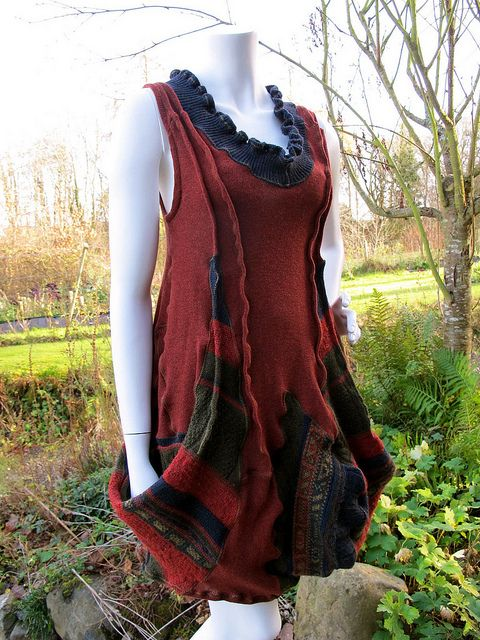 Red Rooster dress   Flickr - Photo Sharing!