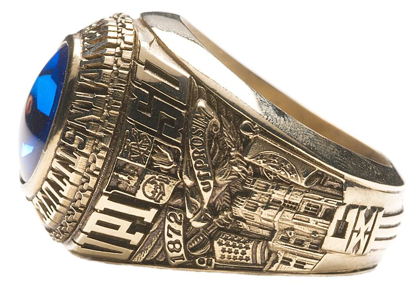 Class of 1985 university side American ring, Rings for