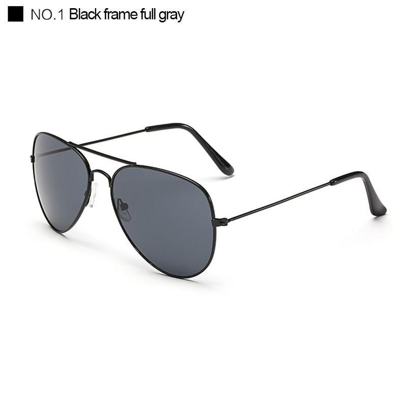 4ceee74391 Pilot sunglass Female Eyewear New Polarized Aviator Oculos Gold Silver  frame Glasses