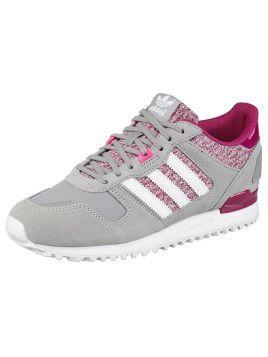 buy popular 39ffb 92895 Diesen Adidas Originals ZX700 W Sneaker in Grau, Weiß und Pink gibt es hier!