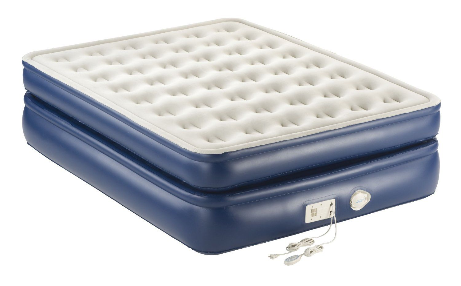 review of the aerobed premier with built in pump air bed queen