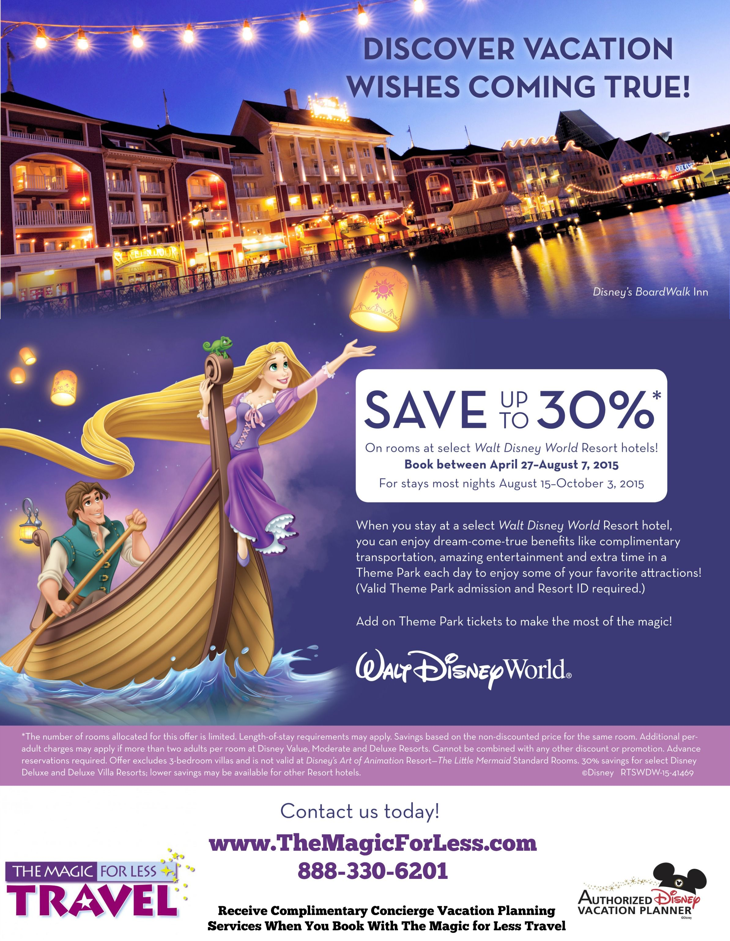 Special Offers and Discounts for Walt Disney World