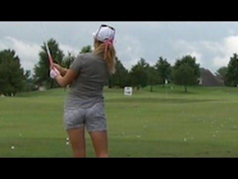 091d42c82ca111 Is Paula Creamer Wearing Underwear on a Golf Course? - YouTube | Golf
