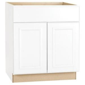 Best 30X34 5 In Satin White Base Kitchen Cabinet Kb30 Sw At 400 x 300