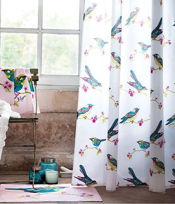 Refreshing Shower Curtain Designs For The Modern Bath Haus Deko Dekor Modernes Badezimmerdesign