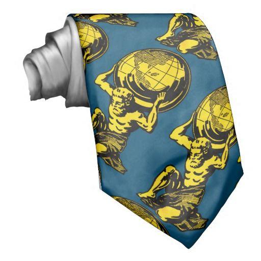 Blue & Yellow Atlas Neck Tie http://www.zazzle.com/blue_yellow_atlas_neck_tie-151654106753073860