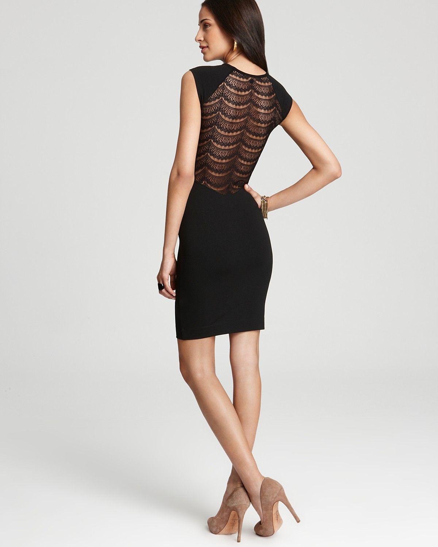 French Connection Dress Dani Lace Open Back With Images Fancy Dresses French Connection Dress Shop Designer Dresses