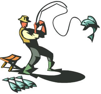 person fishing clip art learn how to catch any kind of fish with rh pinterest com Cartoon Fish Clip Art Cute Fish Clip Art