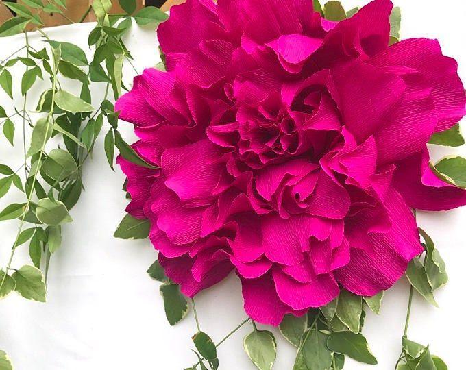 Giant Paper Rose-Paper Wallflower-Adelaide Rose-Wedding flowers-Giant Paper Flowers -Boho paper Flowers-Nursery Decor-Nursery Art #crepepaperroses Giant Paper Rose-Paper Wallflower-Adelaide Rose-Wedding | Etsy #crepepaperroses