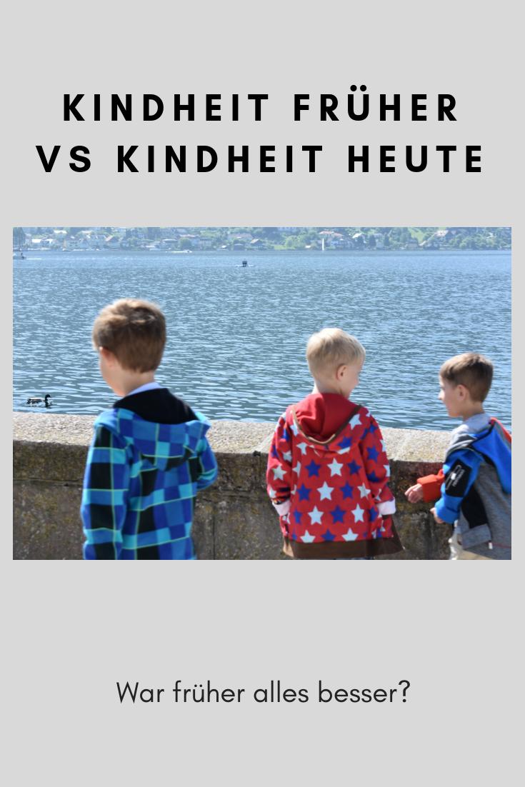 Kindheit Früher Vs Kindheit Heute Familienblog 3fachjungsmaminet