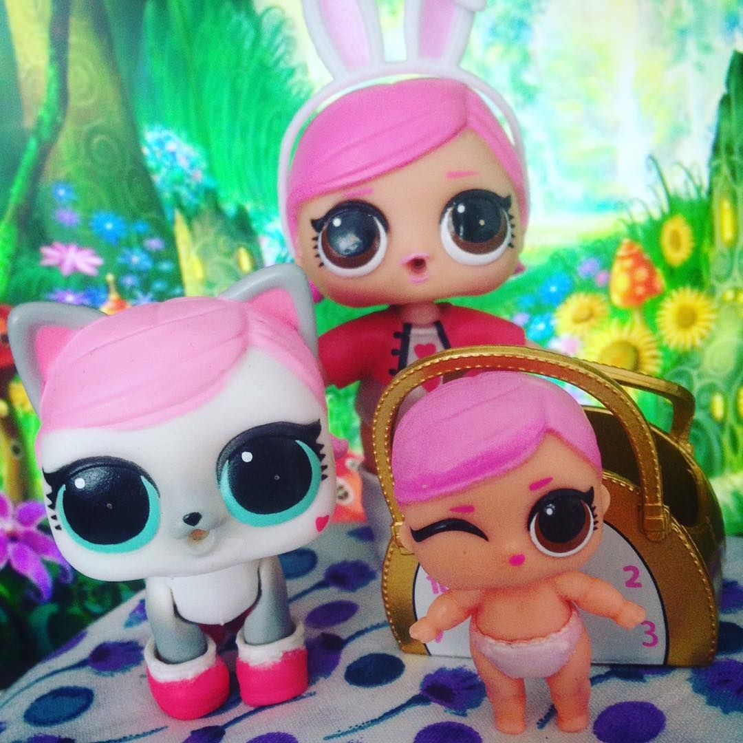 Hops Family Hops Lil Hops And Hops Kit Tea Lol Lolsurprise Surprise Lolsurpriselilsisters Lilsisters Lolsurprisep Lol Dolls Doll Family Doll Photography