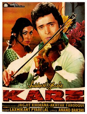 Karz 1980 Paintings Detail All India Arts Bollywood Posters Classic Films Posters Download Free Movies Online