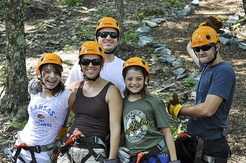 Valley Forge Zip Lining