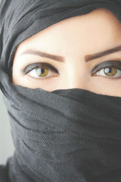 Veiled Woman Beauty Eyes Niqab Eyes Arabian Beauty