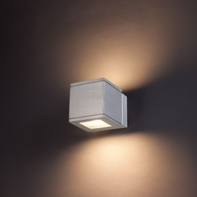 Rubix Outdoor LED Up and Down Wall Sconce | Wall sconces, Indoor ...