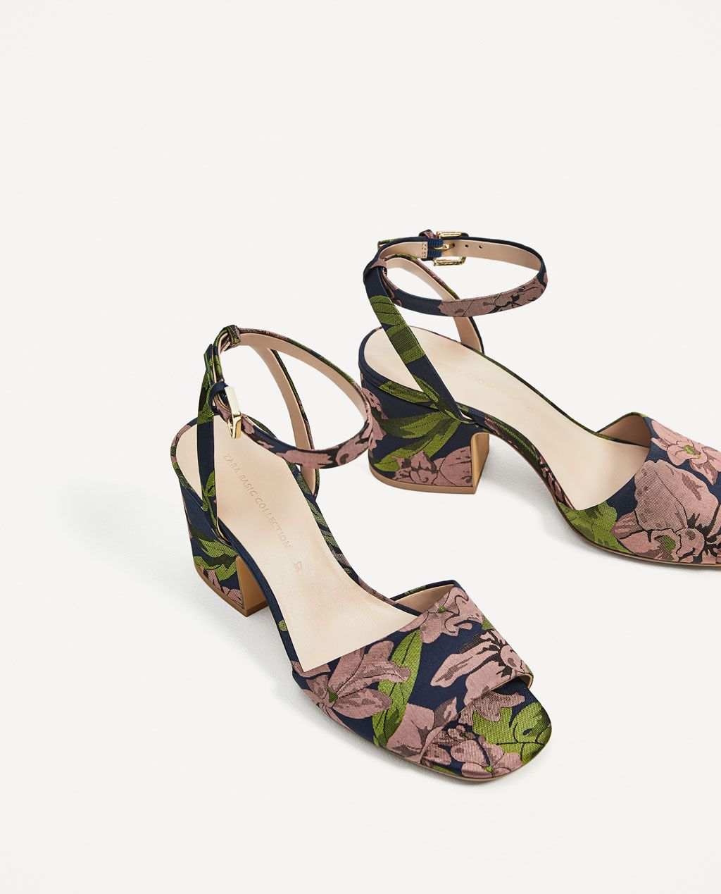41d3c3a6848 EMBROIDERED HIGH HEEL SANDALS-Heeled sandals-SHOES-WOMAN