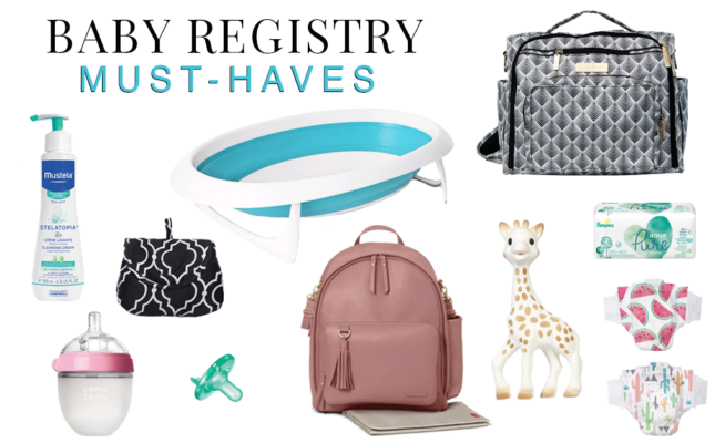 A Truly Personalized Baby Registry from Walmart Baby