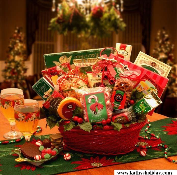 Spirit Season Gift Basket Www Kathysholiday Com Family Gift Baskets Christmas Baskets Affordable Holiday Gifts
