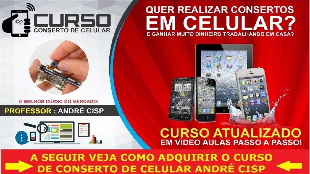 Curso Manutencao De Celulares Versao 3 0 Professor Andre Cisp