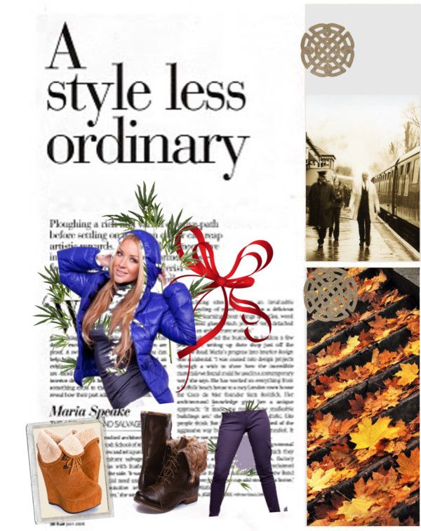 """Winter ordinary"" by wisdomgirl on Polyvore"