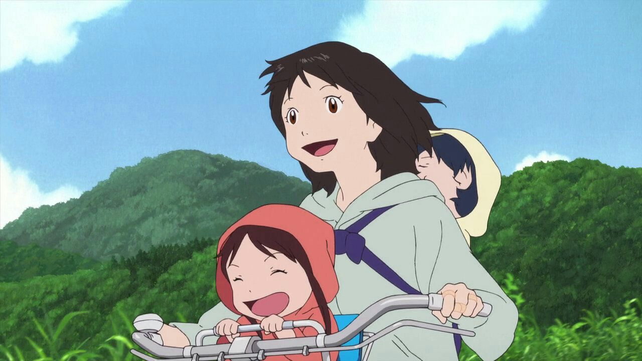 Image result for Hana  wolf children