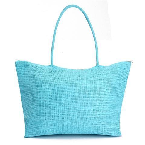Summer Style Woven Tote Beach Bag Women's Fashion | Women's Beach ...