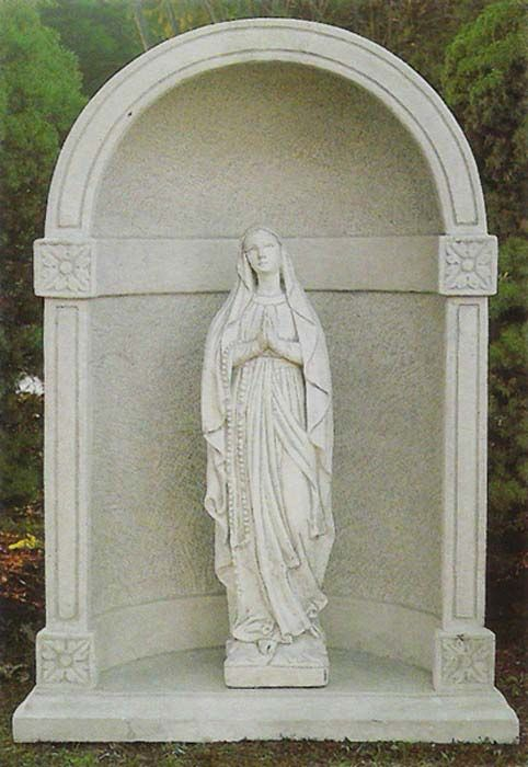 Madonna Virgin Mary Garden Statue Our House Pinterest