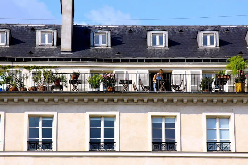 Paris Terrace   amy coady