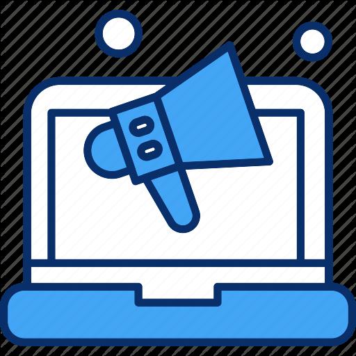 Laptop Marketing Online Shopping Icon Download On Iconfinder Shop Icon Icon Marketing