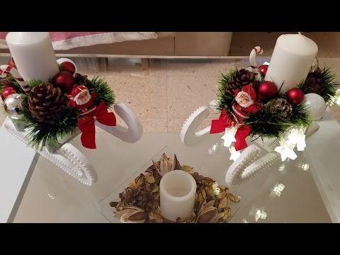 Flor de nochevuena en goma eva youtube todo navidad - Centros de mesa navidenos faciles ...