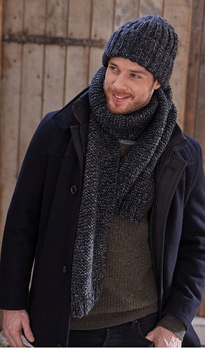 05b6facf7c953 Hat and Scarf pattern by Patons UK ~ FREE pattern ~ 10 ply ...