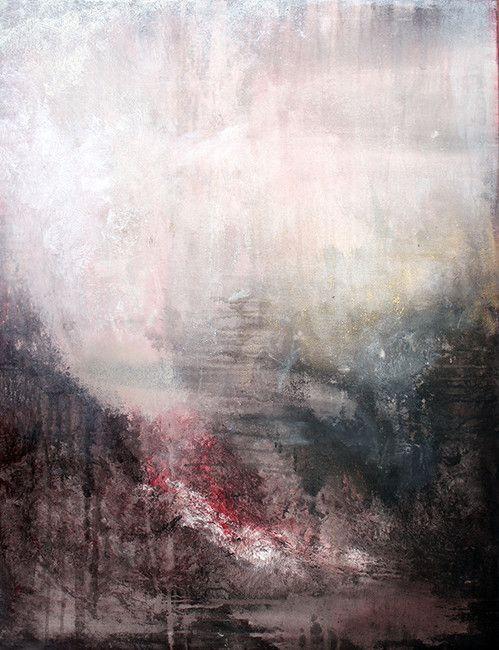o.T 2012-10 | Acryl auf Leinwand 70 x 90