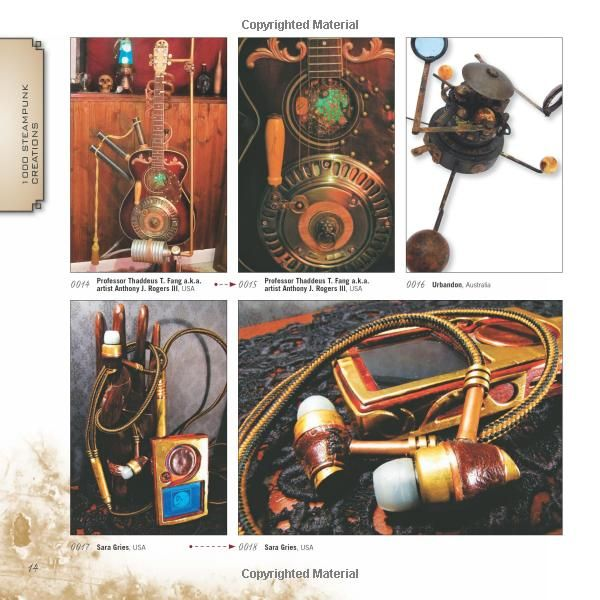 1 000 Steampunk Creations Neo Victorian Fashion Gear And Art 1000 Series Dr Grymm Barbe Saint John 978159253691 Neo Victorian Victorian Fashion Steampunk