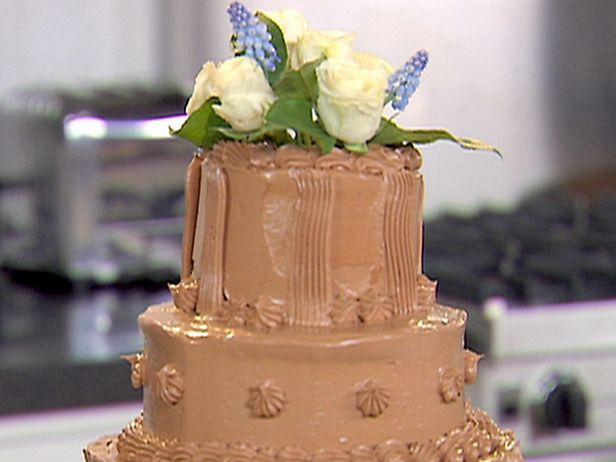 Picture Of Tiered Chocolate Buttercream Cake Recipe