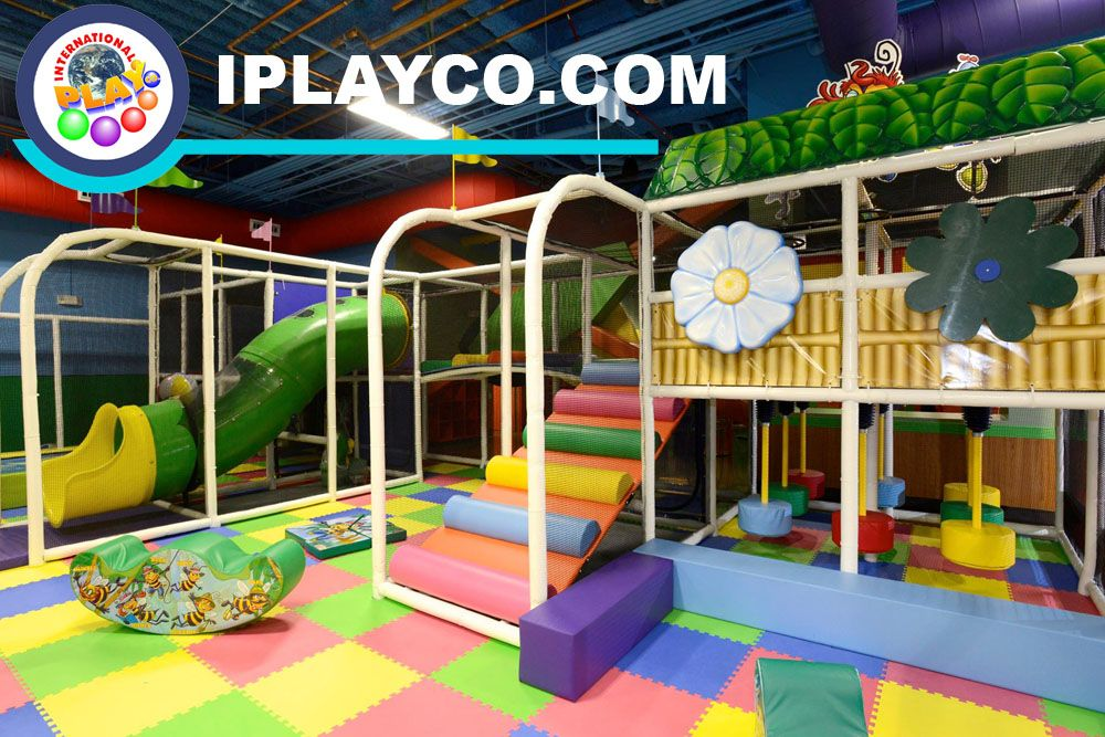 Soft toddler play area for a family entertainment center for Indoor play area for kids