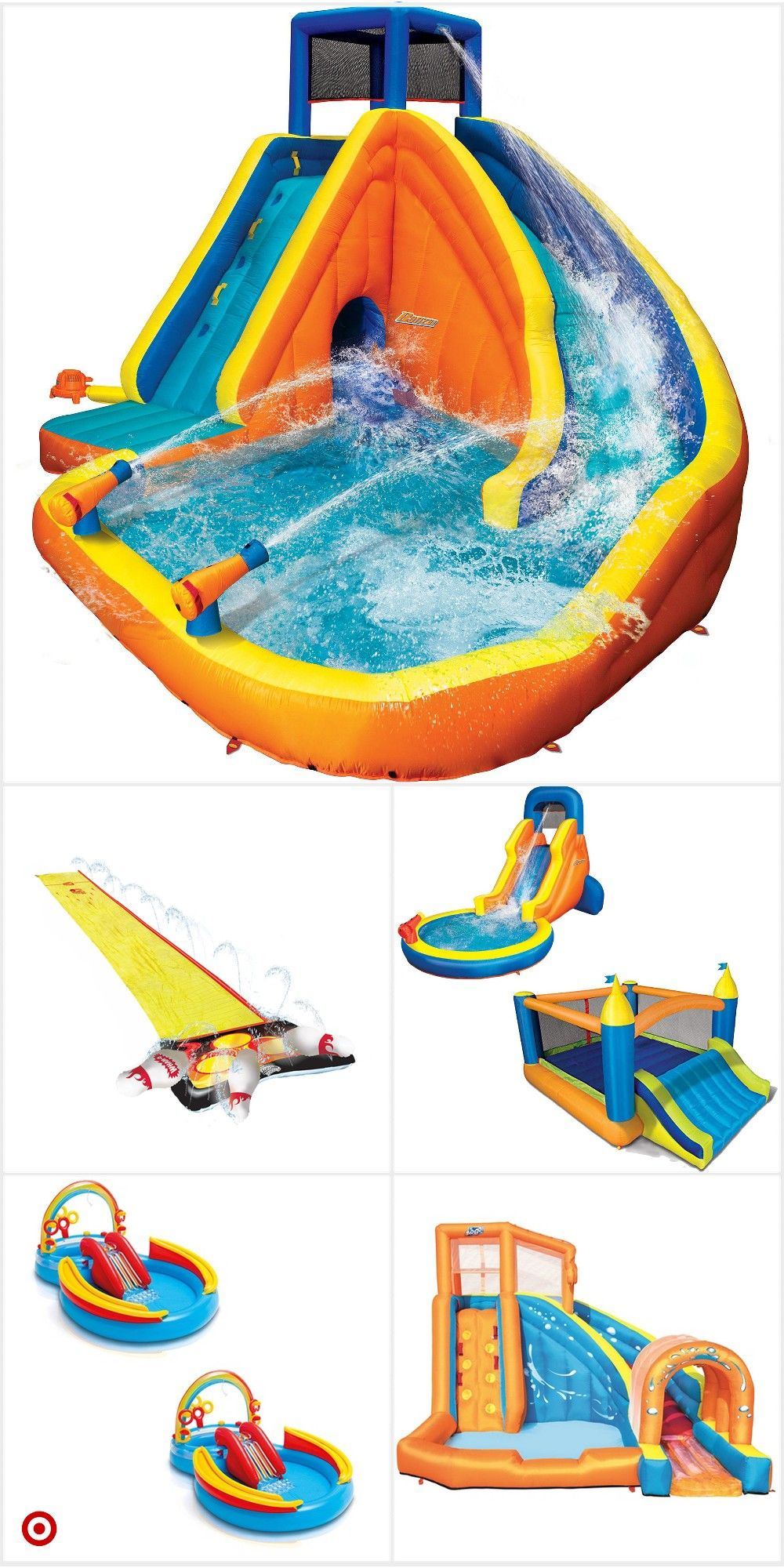 Shop Target For Inflatable Slides You Will Love At Great Low Prices Free Shipping On Orders Of 35 Or Free Fun Sleepover Ideas Cool Pool Floats Backyard Fun
